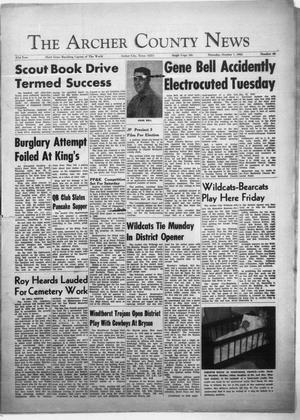 Primary view of object titled 'The Archer County News (Archer City, Tex.), Vol. 51, No. 40, Ed. 1 Thursday, October 7, 1965'.