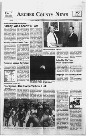 Primary view of object titled 'Archer County News (Archer City, Tex.), No. 23, Ed. 1 Thursday, June 7, 1984'.