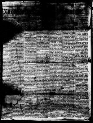 Primary view of object titled 'Nacogdoches Chronicle. (Nacogdoches, Tex.), Ed. 1 Tuesday, April 3, 1855'.