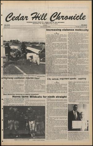 Cedar Hill Chronicle (Cedar Hill, Tex.), Vol. 17, No. 10, Ed. 1 Thursday, November 13, 1980