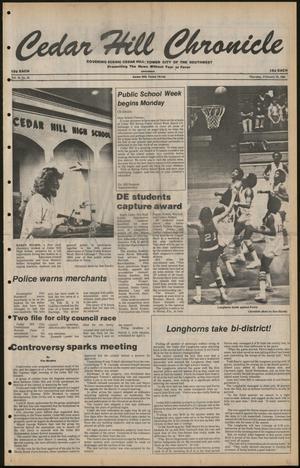 Cedar Hill Chronicle (Cedar Hill, Tex.), Vol. 16, No. 26, Ed. 1 Thursday, February 28, 1980
