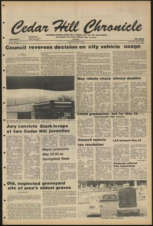 Cedar Hill Chronicle (Cedar Hill, Tex.), Vol. 17, No. 36, Ed. 1 Thursday, May 21, 1981