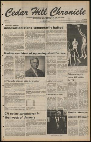 Cedar Hill Chronicle (Cedar Hill, Tex.), Vol. 16, No. 19, Ed. 1 Thursday, January 10, 1980