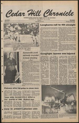 Cedar Hill Chronicle (Cedar Hill, Tex.), Vol. 17, No. 4, Ed. 1 Thursday, October 2, 1980