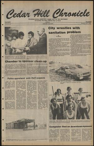 Cedar Hill Chronicle (Cedar Hill, Tex.), Vol. 16, No. 33, Ed. 1 Thursday, April 17, 1980