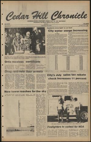 Cedar Hill Chronicle (Cedar Hill, Tex.), Vol. 16, No. 46, Ed. 1 Thursday, July 17, 1980