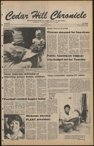 Cedar Hill Chronicle (Cedar Hill, Tex.), Vol. 16, No. 52, Ed. 1 Thursday, September 4, 1980