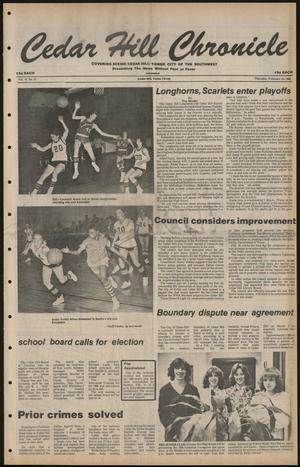 Cedar Hill Chronicle (Cedar Hill, Tex.), Vol. 16, No. 24, Ed. 1 Thursday, February 14, 1980