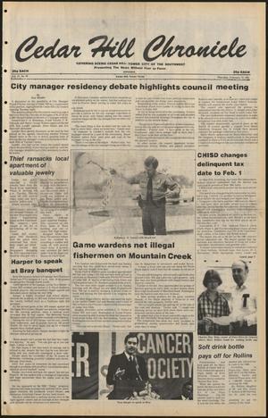 Cedar Hill Chronicle (Cedar Hill, Tex.), Vol. 17, No. 22, Ed. 1 Thursday, February 12, 1981