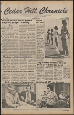 Cedar Hill Chronicle (Cedar Hill, Tex.), Vol. 16, No. 50, Ed. 1 Thursday, August 21, 1980