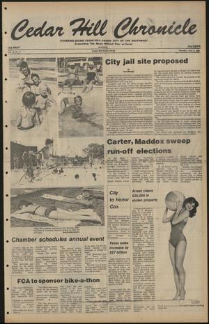 Cedar Hill Chronicle (Cedar Hill, Tex.), Vol. 16, No. 41, Ed. 1 Thursday, June 12, 1980