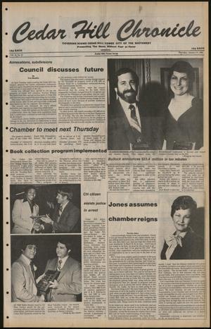 Cedar Hill Chronicle (Cedar Hill, Tex.), Vol. 16, No. 21, Ed. 1 Thursday, January 24, 1980