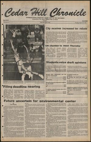 Cedar Hill Chronicle (Cedar Hill, Tex.), Vol. 16, No. 25, Ed. 1 Thursday, February 21, 1980
