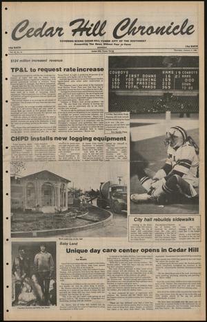 Cedar Hill Chronicle (Cedar Hill, Tex.), Vol. 16, No. 18, Ed. 1 Thursday, January 3, 1980