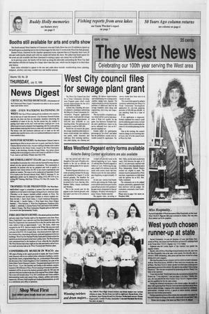 Primary view of object titled 'The West News (West, Tex.), Vol. 100, No. 28, Ed. 1 Thursday, July 12, 1990'.