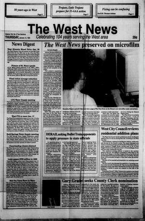 Primary view of object titled 'The West News (West, Tex.), Vol. 104, No. 2, Ed. 1 Thursday, January 13, 1994'.