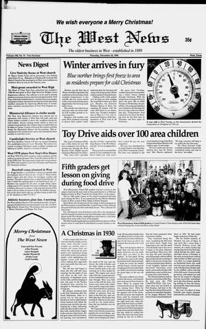 Primary view of object titled 'The West News (West, Tex.), Vol. 108, No. 51, Ed. 1 Thursday, December 24, 1998'.