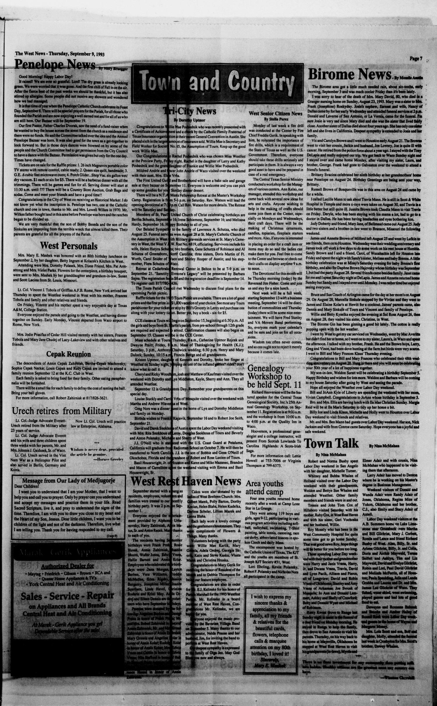 The West News (West, Tex.), Vol. 103, No. 36, Ed. 1 Thursday ...