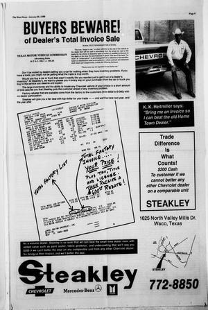 The West News (West, Tex ), Vol  98, No  4, Ed  1 Thursday, January