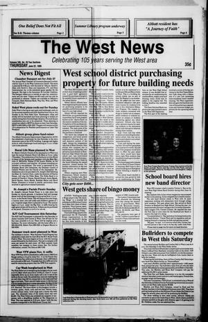 Primary view of The West News (West, Tex.), Vol. 105, No. 25, Ed. 1 Thursday, June 22, 1995