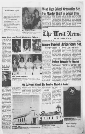 Primary view of object titled 'The West News (West, Tex.), Vol. 90, No. 21, Ed. 1 Thursday, May 22, 1980'.
