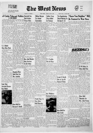 Primary view of object titled 'The West News (West, Tex.), Vol. 79, No. 9, Ed. 1 Friday, June 20, 1969'.