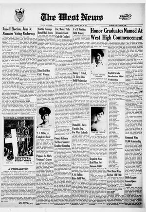 Primary view of object titled 'The West News (West, Tex.), Ed. 1 Friday, May 26, 1972'.