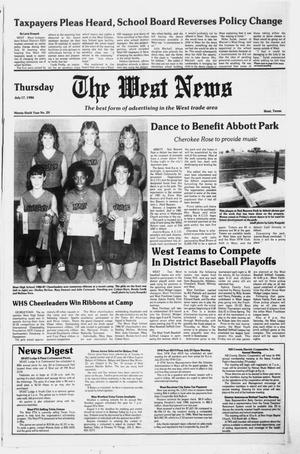 Primary view of object titled 'The West News (West, Tex.), Vol. 96, No. 29, Ed. 1 Thursday, July 17, 1986'.