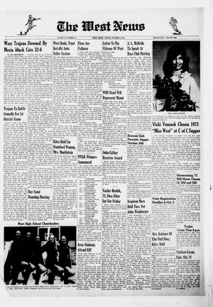 Primary view of object titled 'The West News (West, Tex.), Vol. 82, No. 25, Ed. 1 Friday, October 6, 1972'.