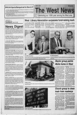 Primary view of object titled 'The West News (West, Tex.), Vol. 99, No. 12, Ed. 1 Thursday, March 23, 1989'.
