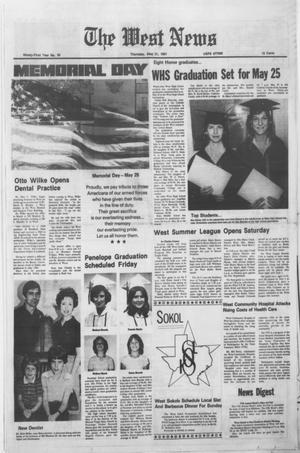 Primary view of object titled 'The West News (West, Tex.), Vol. 91, No. 20, Ed. 1 Thursday, May 21, 1981'.