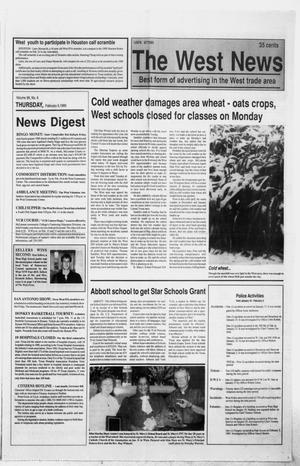 Primary view of object titled 'The West News (West, Tex.), Vol. 99, No. 6, Ed. 1 Thursday, February 9, 1989'.