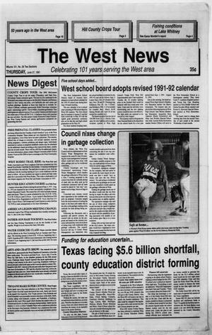 Primary view of object titled 'The West News (West, Tex.), Vol. 101, No. 26, Ed. 1 Thursday, June 27, 1991'.