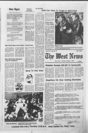 Primary view of object titled 'The West News (West, Tex.), Vol. 90, No. 49, Ed. 1 Thursday, December 11, 1980'.