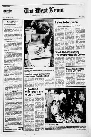 Primary view of object titled 'The West News (West, Tex.), Vol. 92, No. 16, Ed. 1 Thursday, April 21, 1983'.