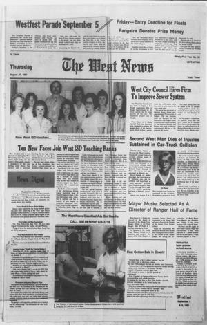 Primary view of object titled 'The West News (West, Tex.), Vol. 91, No. 34, Ed. 1 Thursday, August 27, 1981'.