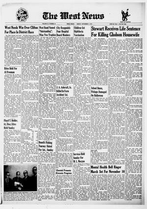 Primary view of object titled 'The West News (West, Tex.), Vol. 81, No. 29, Ed. 1 Friday, November 5, 1971'.