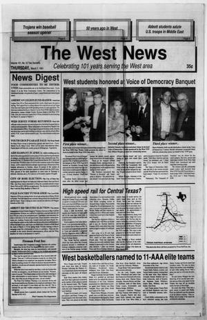 Primary view of object titled 'The West News (West, Tex.), Vol. 101, No. 10, Ed. 1 Thursday, March 7, 1991'.