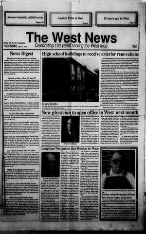 Primary view of object titled 'The West News (West, Tex.), Vol. 103, No. 24, Ed. 1 Thursday, June 17, 1993'.