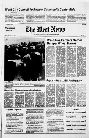 Primary view of object titled 'The West News (West, Tex.), Vol. 92, No. 25, Ed. 1 Thursday, June 23, 1983'.