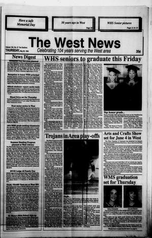 Primary view of object titled 'The West News (West, Tex.), Vol. 104, No. 21, Ed. 1 Thursday, May 26, 1994'.