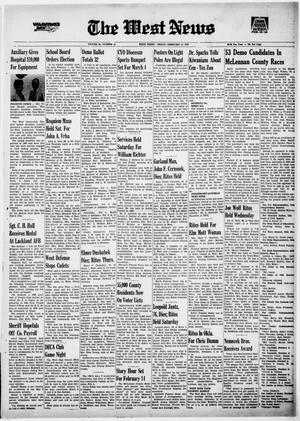 Primary view of object titled 'The West News (West, Tex.), Ed. 1 Friday, February 11, 1972'.