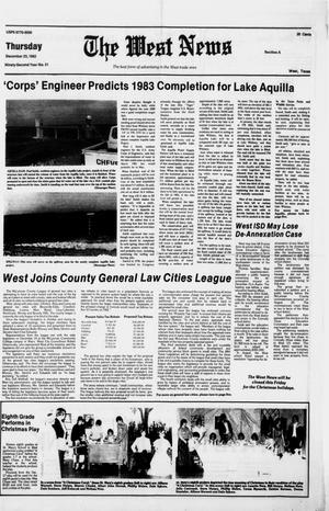 Primary view of object titled 'The West News (West, Tex.), Vol. 92, No. 51, Ed. 1 Thursday, December 23, 1982'.