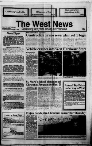 Primary view of object titled 'The West News (West, Tex.), Vol. 104, No. 50, Ed. 1 Thursday, December 15, 1994'.
