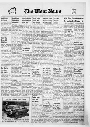 Primary view of object titled 'The West News (West, Tex.), Vol. 79, No. 43, Ed. 1 Friday, February 13, 1970'.