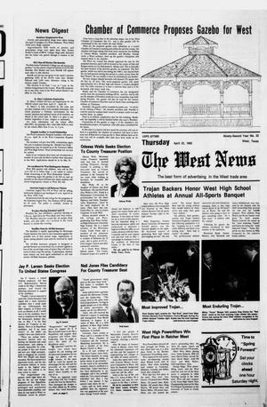 Primary view of object titled 'The West News (West, Tex.), Vol. 92, No. 22, Ed. 1 Thursday, April 22, 1982'.