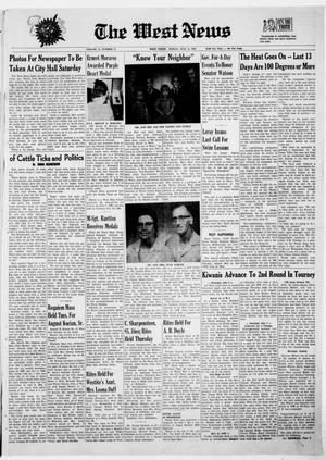 Primary view of object titled 'The West News (West, Tex.), Vol. 79, No. 12, Ed. 1 Friday, July 11, 1969'.