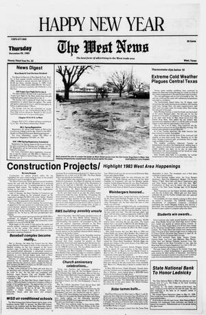 Primary view of object titled 'The West News (West, Tex.), Vol. 93, No. 52, Ed. 1 Thursday, December 29, 1983'.