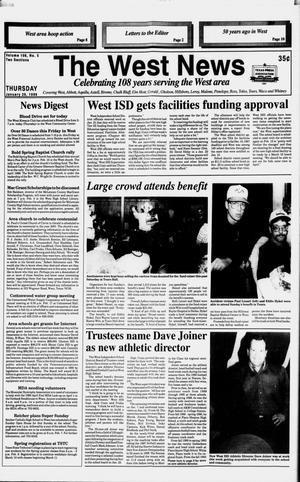 Primary view of object titled 'The West News (West, Tex.), Vol. 108, No. 5, Ed. 1 Thursday, January 29, 1998'.