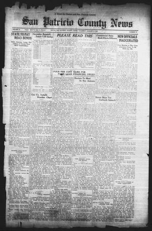 Primary view of object titled 'San Patricio County News (Sinton, Tex.), Vol. 24, No. 51, Ed. 1 Thursday, January 5, 1933'.